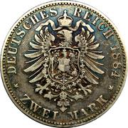 2 Mark - Heinrich XIV – reverse