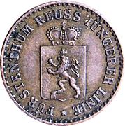 1 Pfennig - Heinrich XIV – obverse