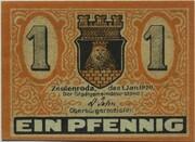 1 Pfennig (Zeulenroda) – obverse