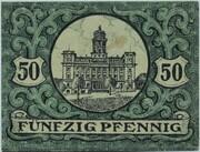 50 Pfennig (Zeulenroda) – reverse