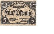 5 Pfennig (Triebes) – obverse