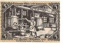 5 Pfennig (Triebes) – reverse