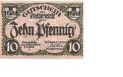10 Pfennig (Triebes) – obverse