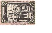 10 Pfennig (Triebes) – reverse