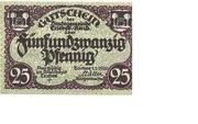 25 Pfennig (Triebes) – obverse