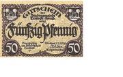 50 Pfennig (Triebes) – obverse