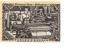 50 Pfennig (Triebes) – reverse