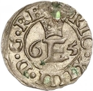 1 Schilling - Eric XIV (Without shield) – obverse