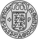4 Pfennig - Sigismund – reverse
