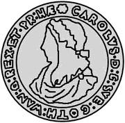 4 Mark - Carl XI (1st shield) – obverse