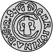 1 Solidus - Christina – obverse