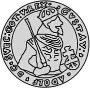 4 Mark - Gustav II Adolf (Proper weight) – obverse