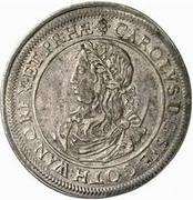 1 Riksdaler - Carl XI – obverse