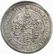 1 Riksdaler - Carl XI – reverse