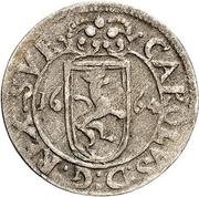 1 Rundstück - Carl XI (Lion facing right) – obverse