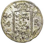 4 Rundstück - Carl XI – reverse