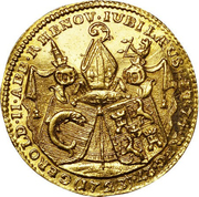 1 Ducat - Gerold II von Zurlauben – obverse