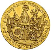 2 Ducat - Gerold II von Zurlauben – obverse
