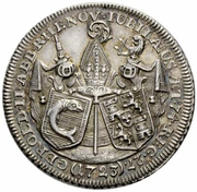 2 Ducat - Gerold II von Zurlauben (Uniface) – obverse