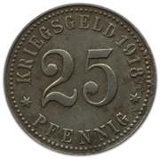 25 Pfennig - Rheine in Westfalen -  obverse