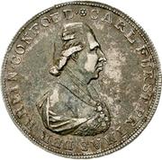 1 Thaler - Karl Theodor von Dalberg (Konventionstaler) – obverse
