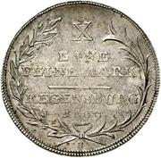1 Thaler - Karl Theodor von Dalberg (Konventionstaler) – reverse