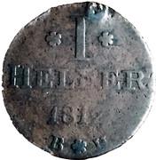 1 Heller - Karl Theodor von Dalberg – reverse