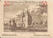50 Pfennig (Calcar) – reverse