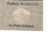 10 Pfennig (Höhscheid) – reverse