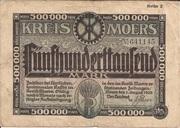 500,000 Mark (Kreis Moers) – obverse