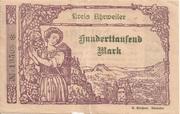 100,000 Mark (Kreis Ahrweiler) – obverse