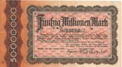 50,000,000 Mark (Regierungsbezirk Trier, Provinz Birkenfeld) – obverse