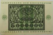 5,000,000 Mark (Landesbank der Rheinprovinz) – reverse