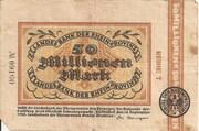 50,000,000 Mark (Landesbank der Rheinprovinz) – obverse