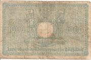 1,000 Mark (Landesbank der Rheinprovinz) – reverse