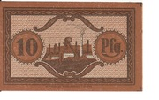 10 Pfennig (Neunkirchen im Saargebiet) – reverse