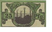 25 Pfennig (Neunkirchen im Saargebiet) – reverse