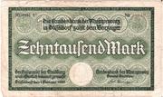 10,000 Mark (Landesbank der Rheinprovinz) – obverse