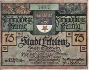 75 Pfennig (Erkelenz) – obverse