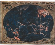 50 Pfennig (Erkelenz) – reverse
