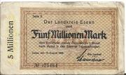 5,000,000 Mark (Landkreis Essen) – obverse