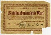500,000 Mark (Kreis Heinsberg) – obverse