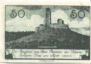50 Pfennig (Kreis Merzig-Wadern) – reverse