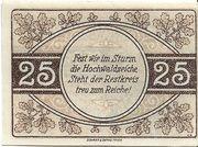 25 Pfennig (Kreis Merzig-Wadern) – reverse