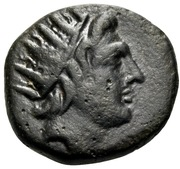 Bronze Æ19 - Epityches – obverse