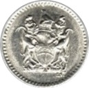 2½ Cents – obverse
