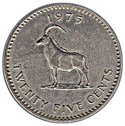 25 Cents – reverse