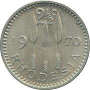 2½ Cents – reverse