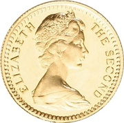 10 Shillings - Elizabeth II (2nd portrait) – obverse