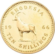 10 Shillings - Elizabeth II (2nd portrait) -  reverse